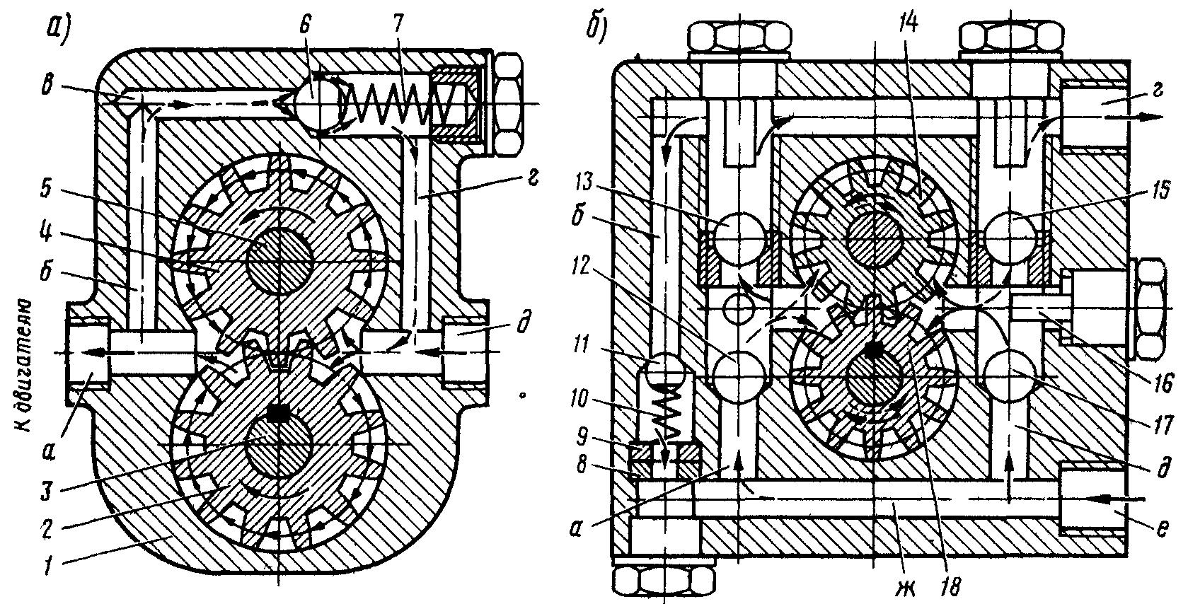 схема топливоподкачивающий насос