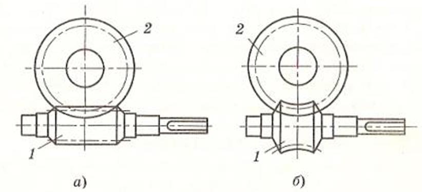 Конструкция червячного редуктора глобоидальной передачи