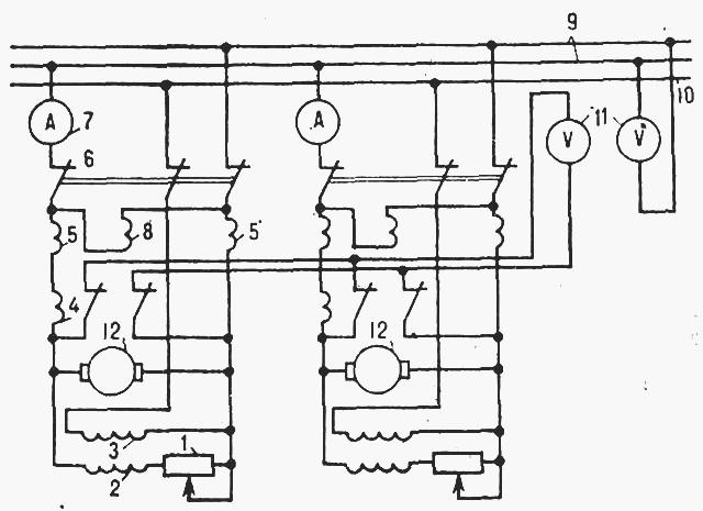 Схема параллельной работы двух