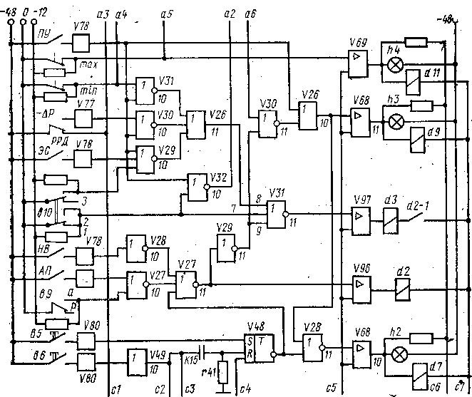 Схема пуска-остановки