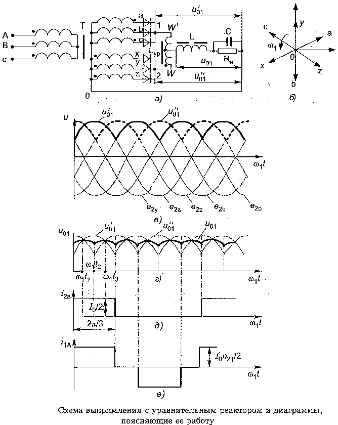 Каскадные схемы выпрямителя