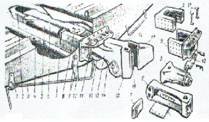 Автосцепное устройство вагона: