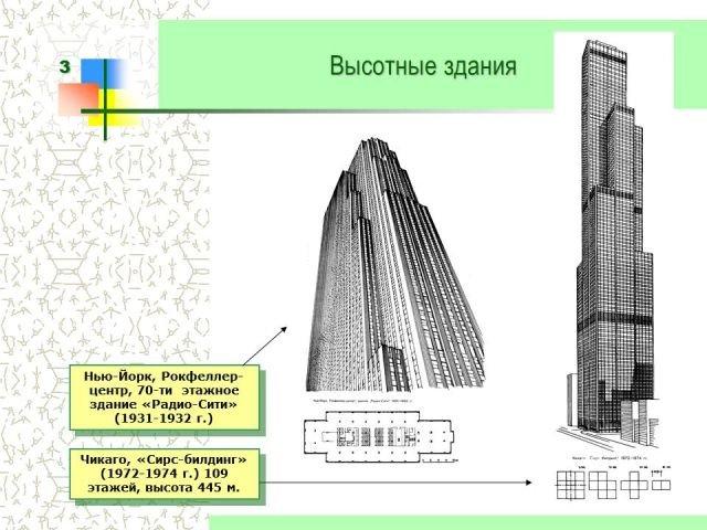 Особенности проектирования высотных зданий
