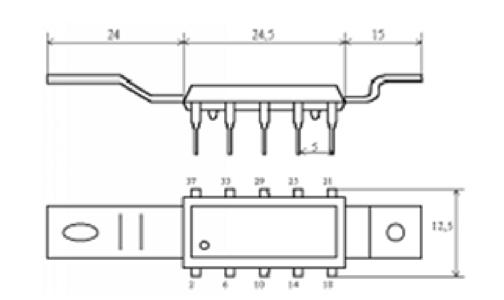 Внешний вид микросхемы К174ХА2