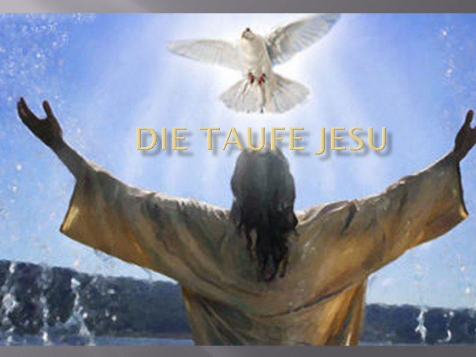 презентация Die Taufe Jesu крещение привет студент
